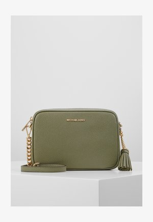 JET CAMERA BAG - Olkalaukku - army green