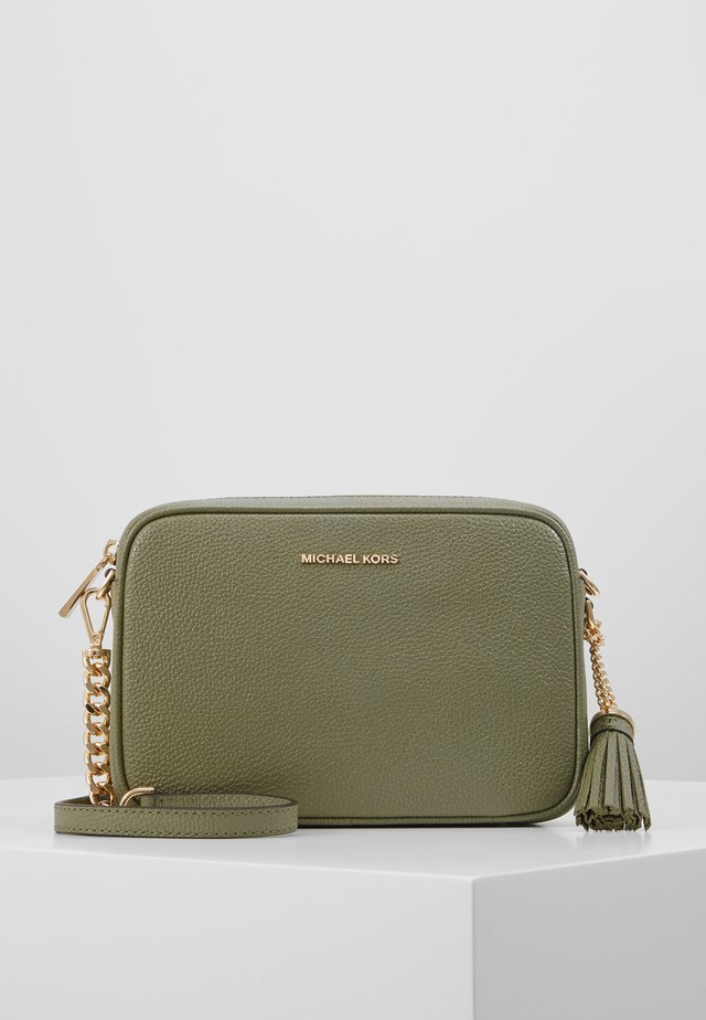 JET SETMD CAMERA BAG SOFT MERCER  - Axelremsväska - army green