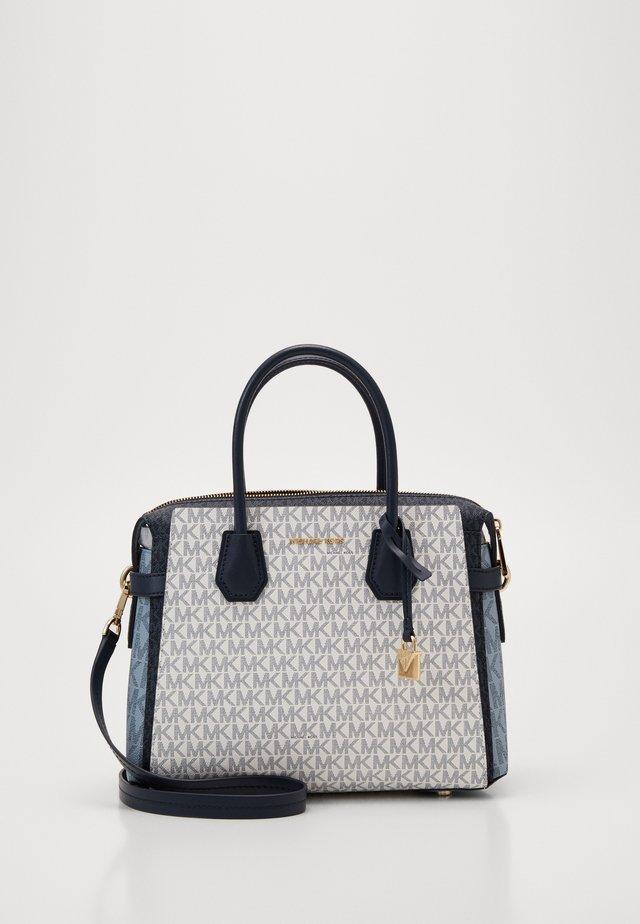 BELTED SATCHEL - Handbag - navy/multi