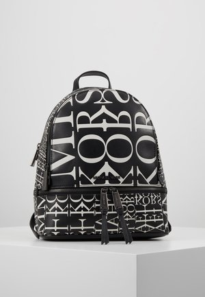 RHEA ZIP BACKPACK - Rucksack - black/opticwhite