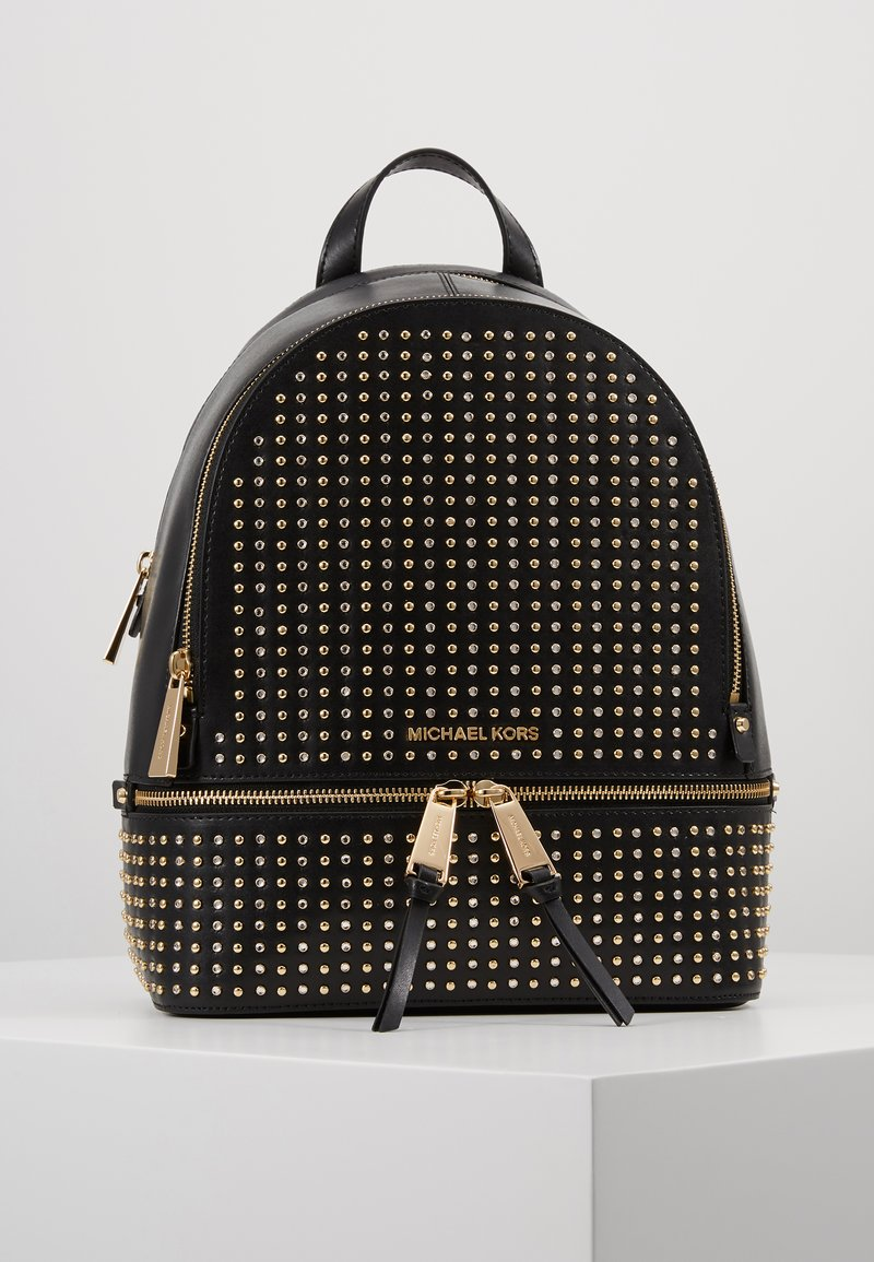 MICHAEL Michael Kors - RHEA ZIP BACKPACK - Reppu - black