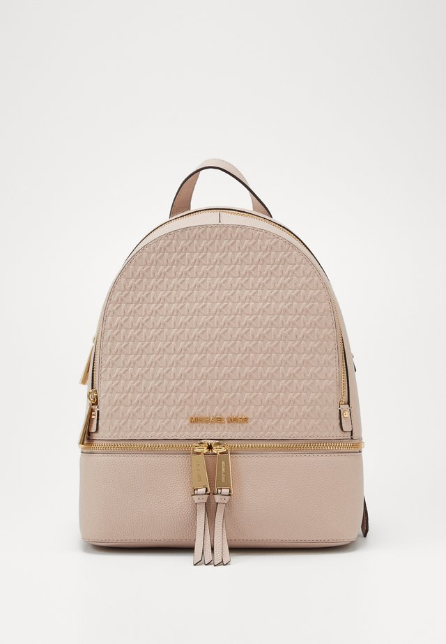 ZIP BACKPACK EMBOSS - Mochila - soft pink