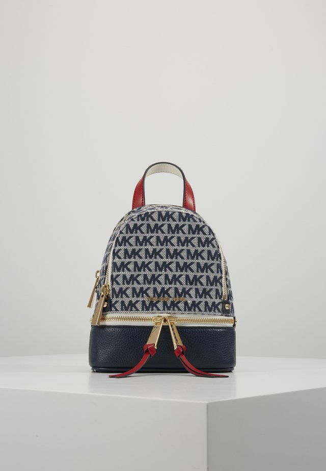 BACKPACKRHEA ZIP - Rucksack - ivory/multi