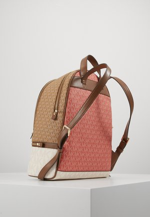 RHEA ZIP BACKPACK - Reppu - coral