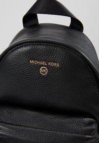 MICHAEL Michael Kors - SLATERXS BACKPACKPEBBLE  - Batoh - black - 3