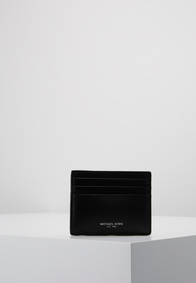 HARRISON - Business card holder - black
