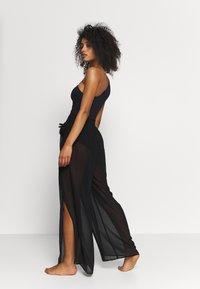MICHAEL Michael Kors - SOLIDS COVER UP PANT - Ranta-asusteet - black - 2