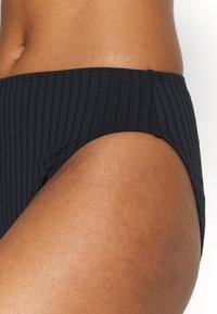MICHAEL Michael Kors - SOLID HIGH WAIST BOTTOM - Bikini bottoms - black - 4