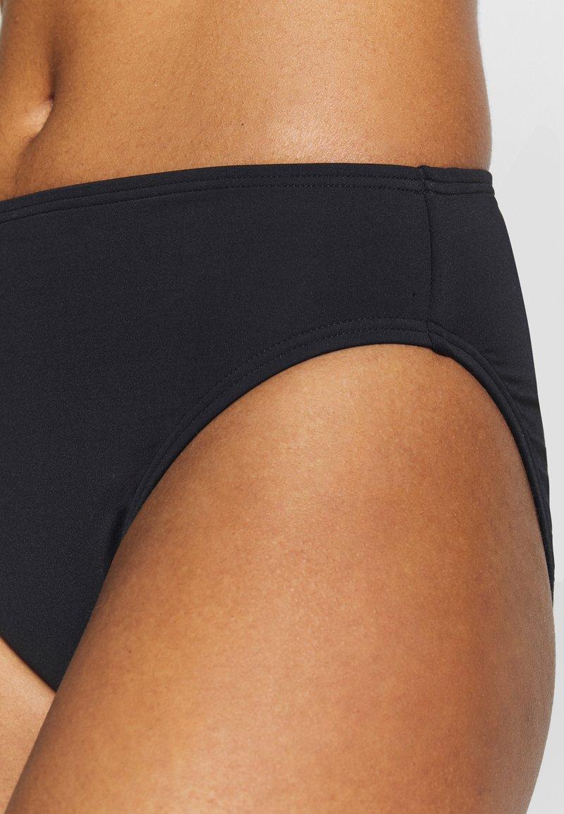 MICHAEL Michael Kors SOLIDS HIGH WAISTED BOTTOM - Bikini pezzo sotto - black kUZaCK per la promozione
