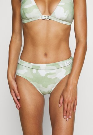 CAMO BELTED BOTTOM - Braguita de bikini - army green