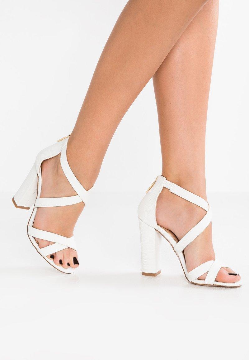 Miss KG - FAUN - Højhælede sandaletter / Højhælede sandaler - white