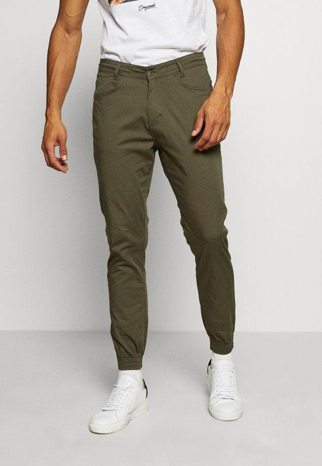 NAUTICAL TROUSERS - Stoffhose - green