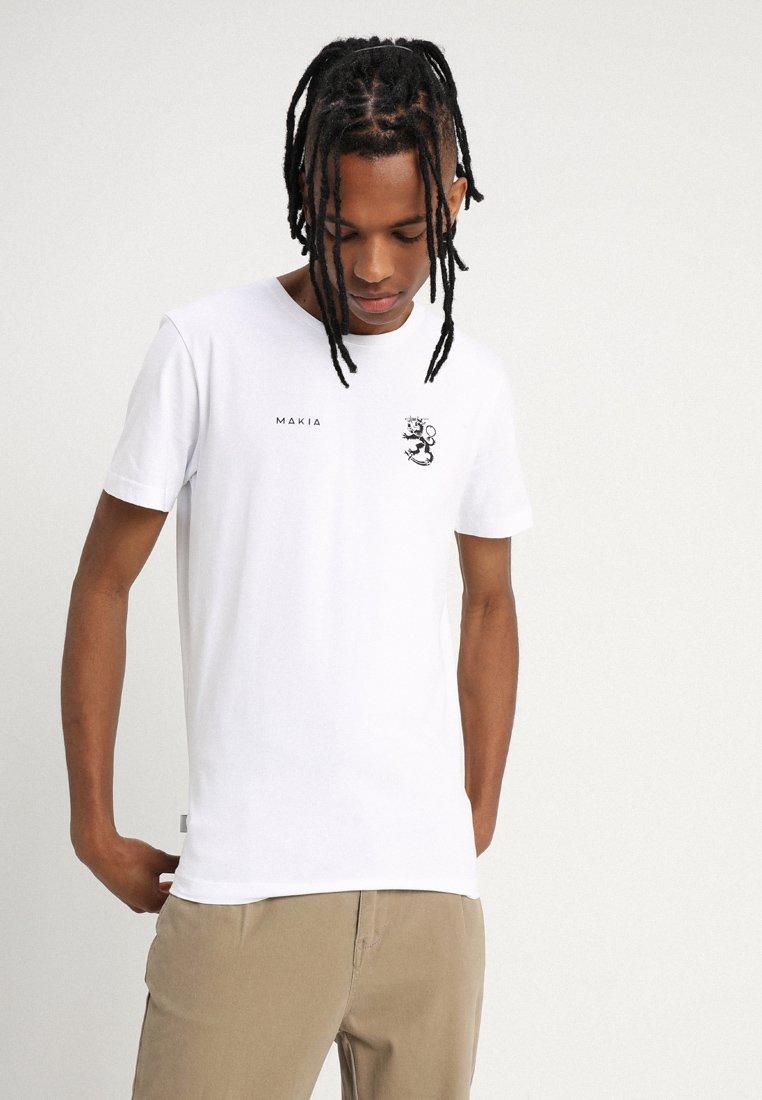 Makia - LEO  - T-shirts print - white