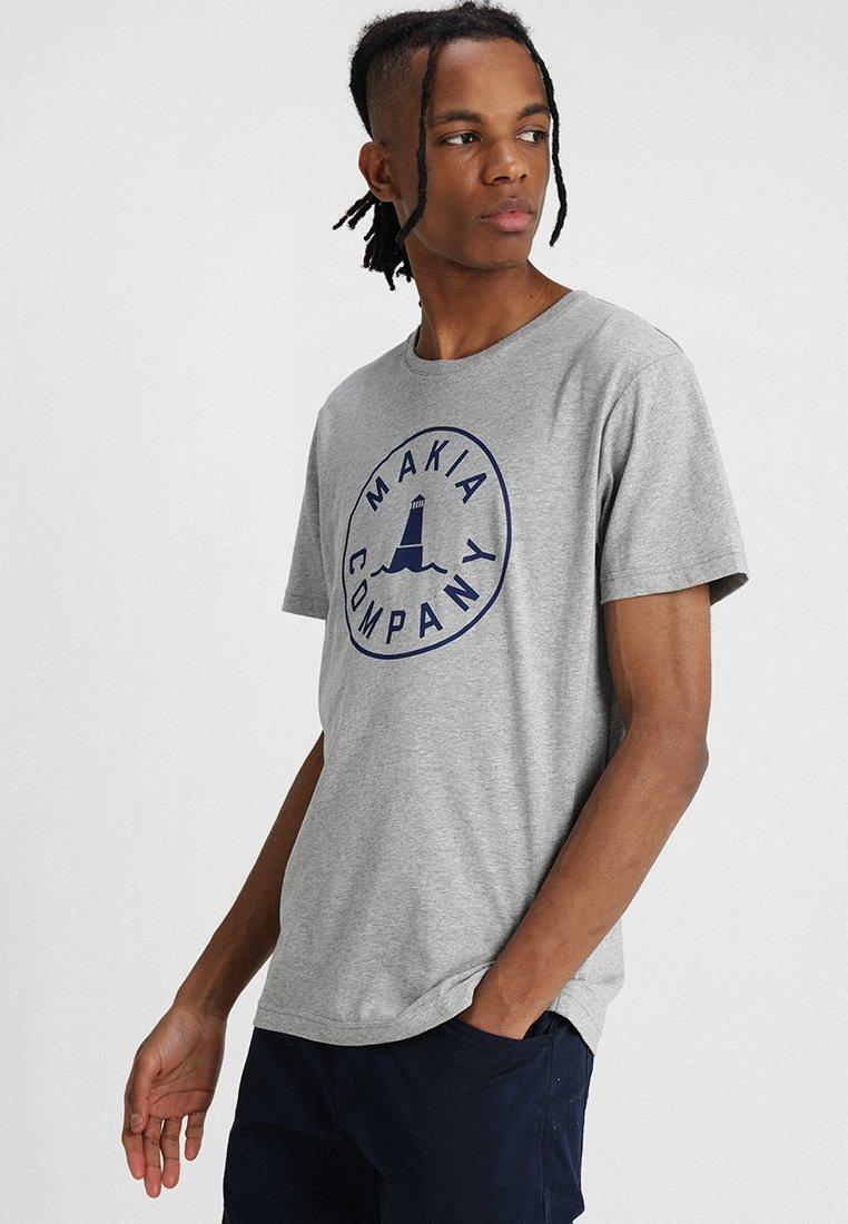 Makia - BEACON  - Print T-shirt - grey