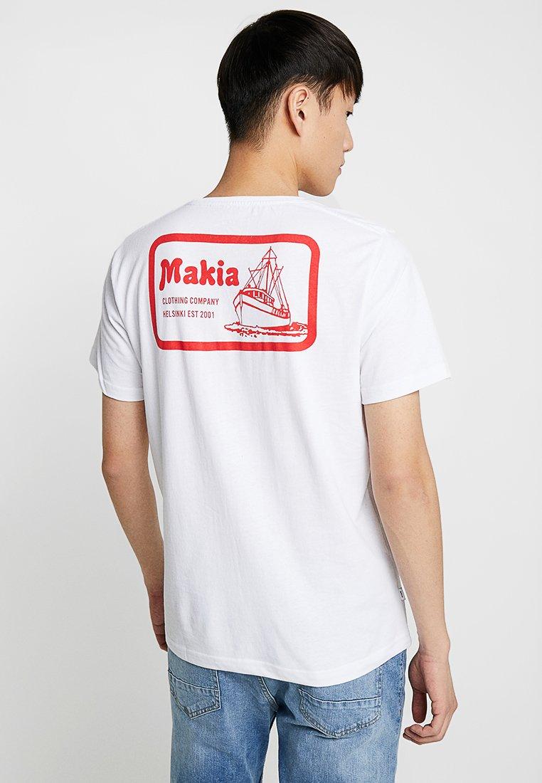 Makia - FAST - T-shirts print - white