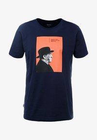 Makia - AALTO - T-shirts print - dark blue - 4