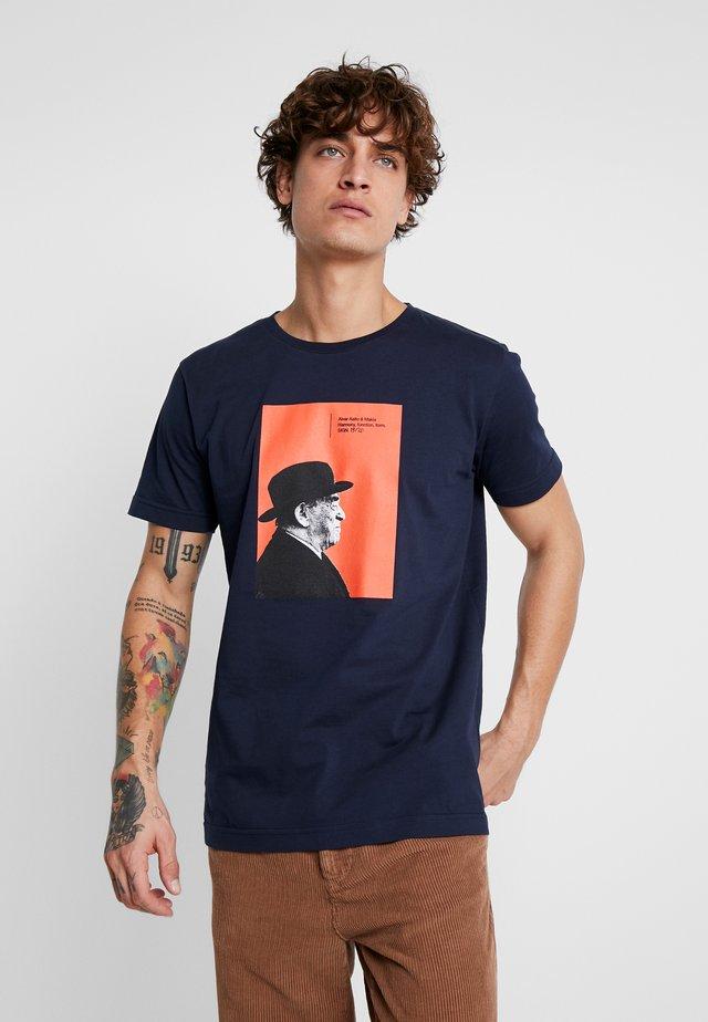 AALTO - T-shirt z nadrukiem - dark blue
