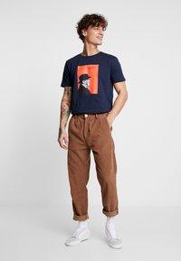 Makia - AALTO - T-shirts print - dark blue - 1