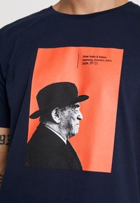 Makia - AALTO - T-shirts print - dark blue - 5