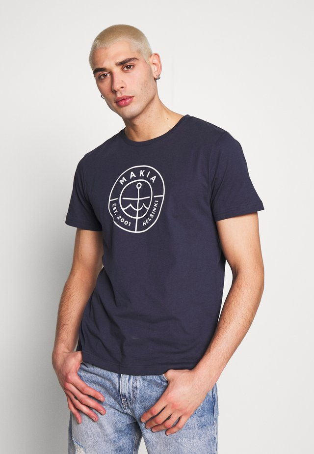 SCOPE  - T-shirt med print - dark blue