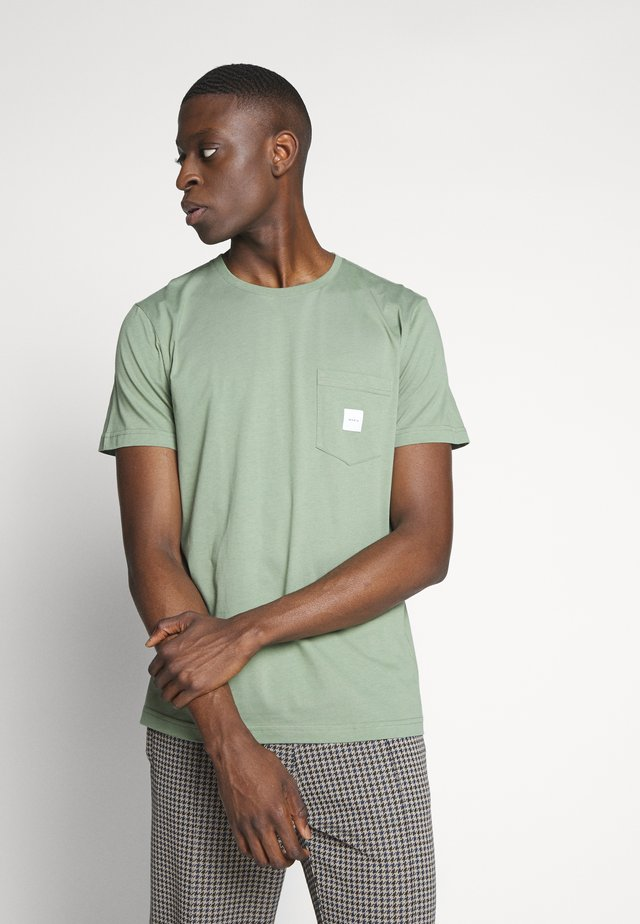 SQUARE POCKET  - T-shirt basique - olive