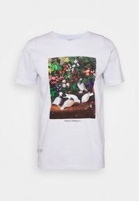 Makia - PIGEONS - Print T-shirt - white - 0