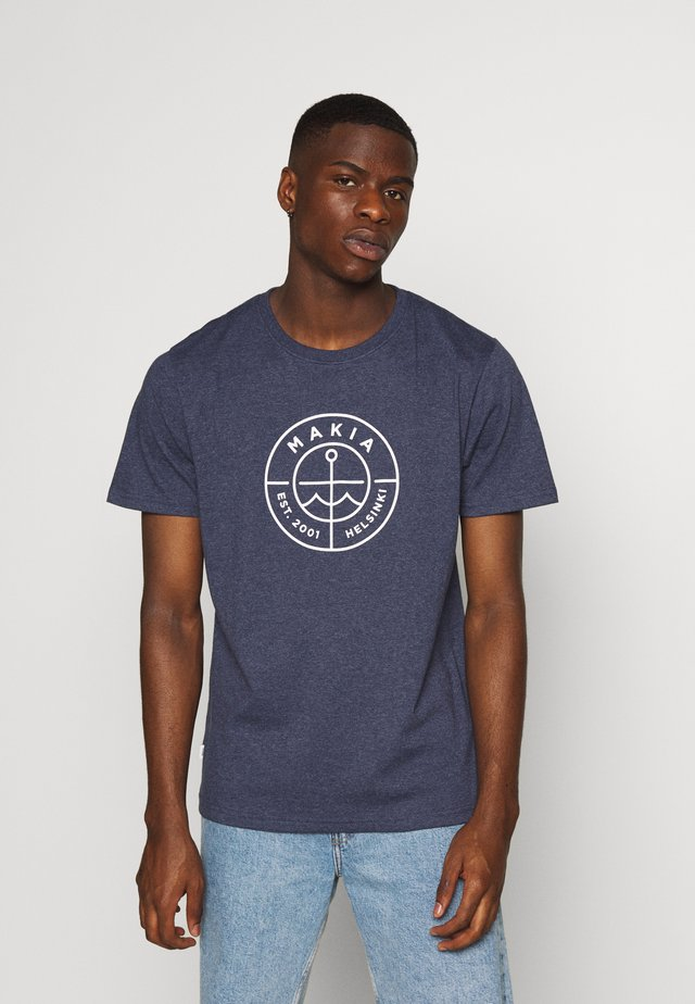 RE-SCOPE - T-Shirt print - navy