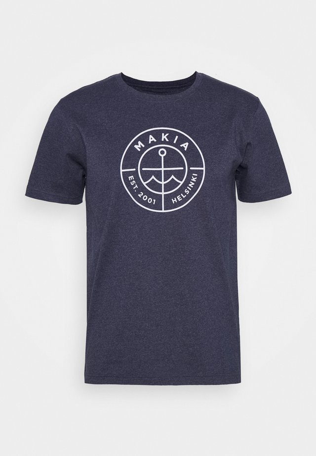 RE-SCOPE - T-shirt imprimé - navy