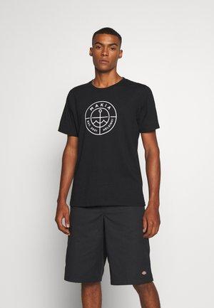 RE-SCOPE - Print T-shirt - black