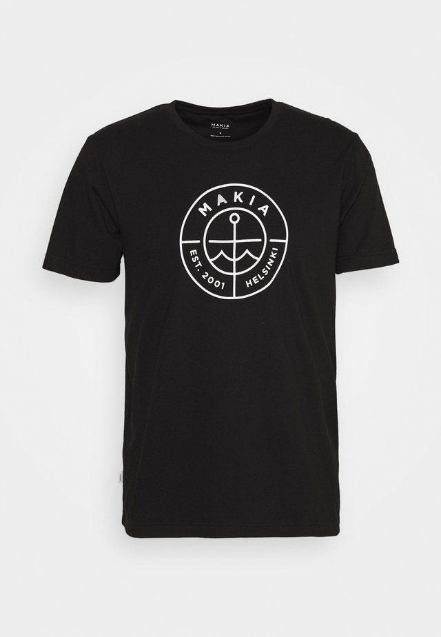 RE-SCOPE - T-shirt imprimé - black