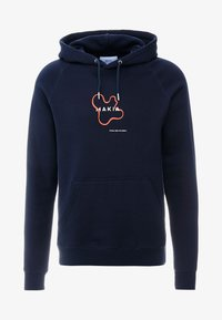 Makia - VASE HOODED - Luvtröja - dark blue - 3