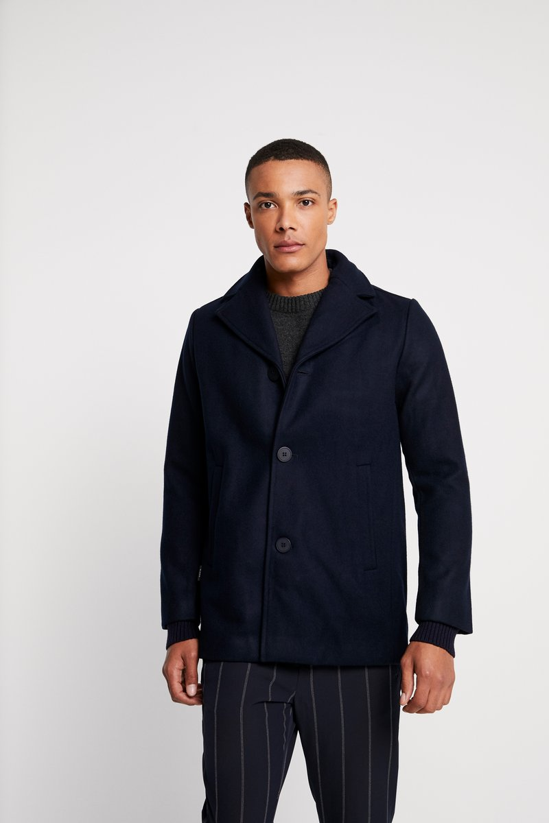 Makia - BEAUFORT JACKET - Short coat - dark navy