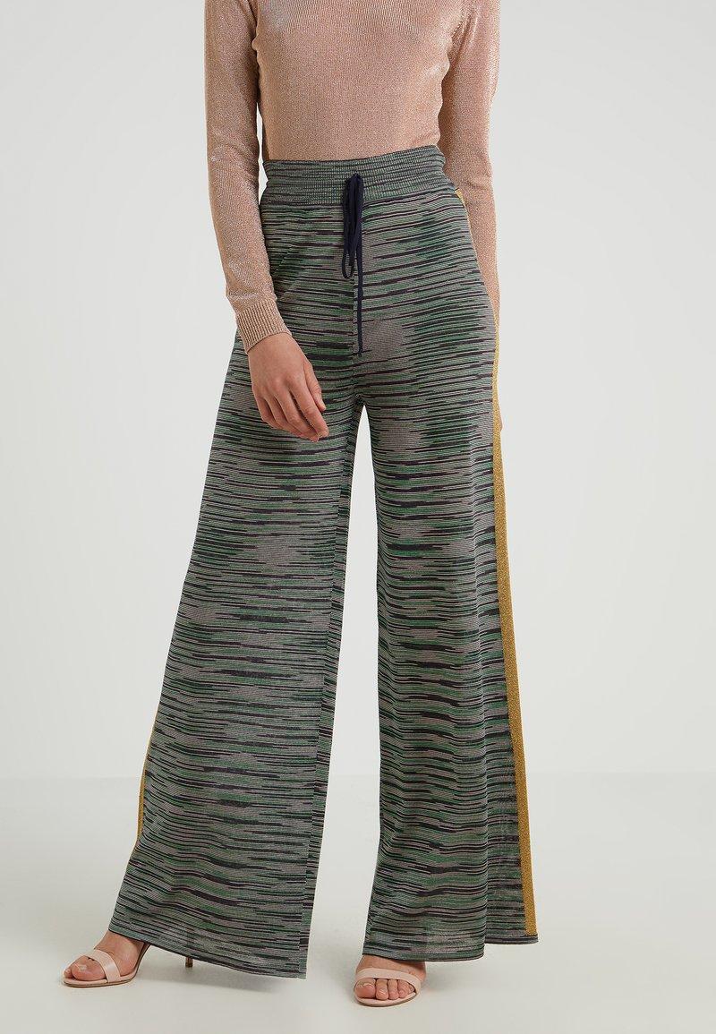 M Missoni - CLASSIC TROUSER - Kalhoty - dark blue
