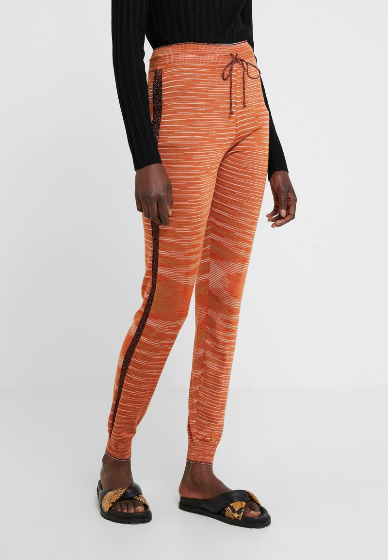 M Missoni - Tracksuit bottoms - orange