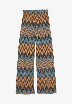 TROUSERS - Spodnie materiałowe - green/multi