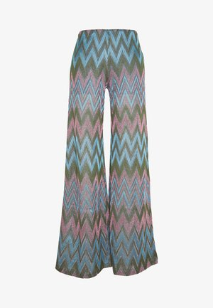 TROUSERS - Trousers - pink/multi
