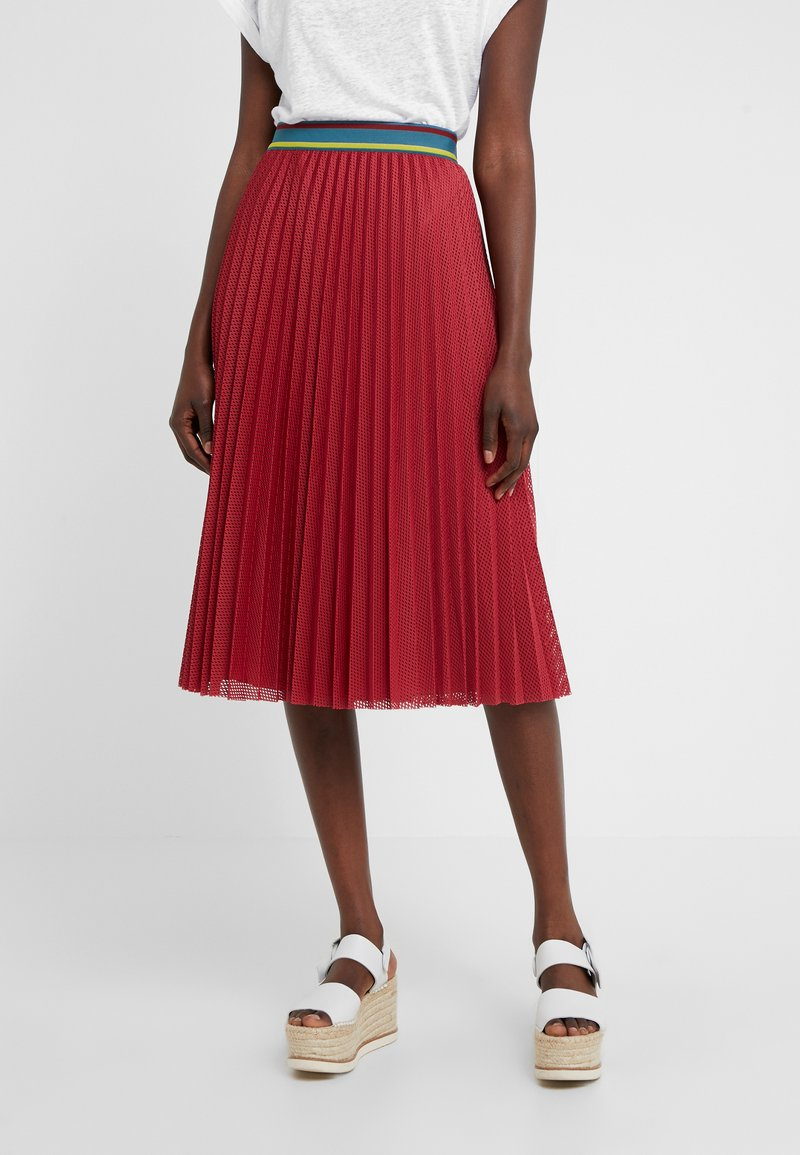 M Missoni - GONNA - A-line skirt - red