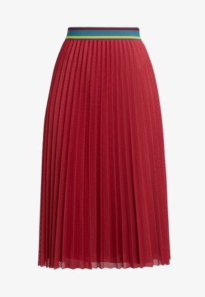 GONNA - A-line skirt - red