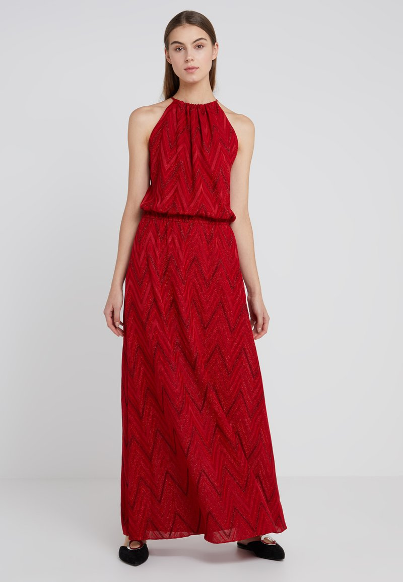 m missoni maxi dress ballkleid red. Black Bedroom Furniture Sets. Home Design Ideas