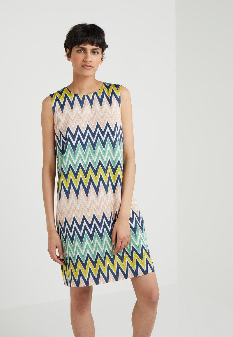 M Missoni - SLEEVLES ZIG ZAG DRESS - Denní šaty - multicolor