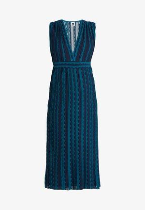 ABITO SENZA MANICHE - Stickad klänning - multi-coloured