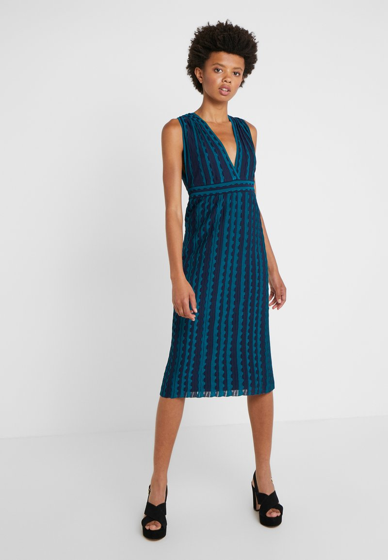 M Missoni - ABITO SENZA MANICHE - Pletené šaty - multi-coloured