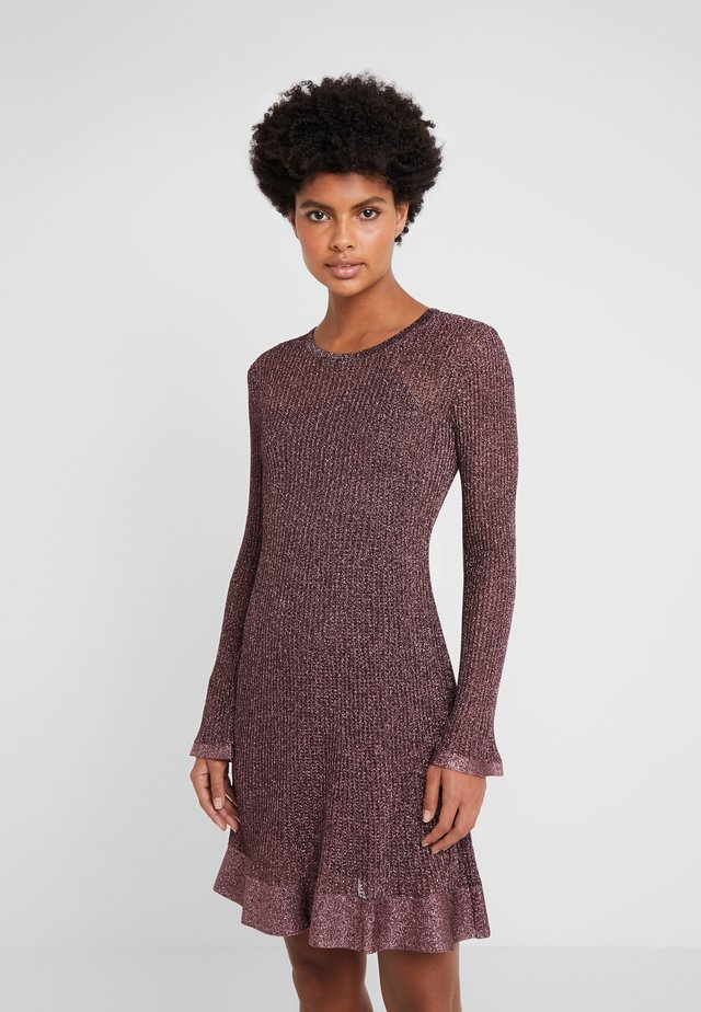 Strickkleid - brown