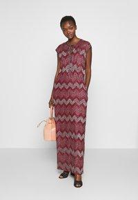 M Missoni - LONG DRESS - Denní šaty - red - 1
