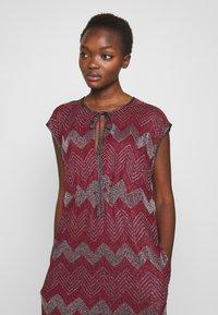 M Missoni - LONG DRESS - Denní šaty - red - 4