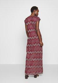 M Missoni - LONG DRESS - Denní šaty - red - 2