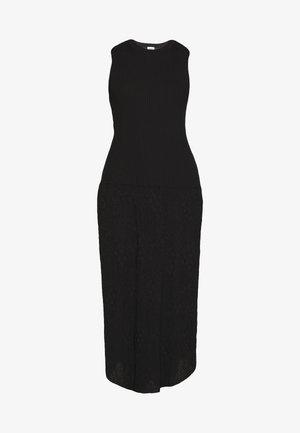 SLEEVES LONGDRESS - Jumper dress - black