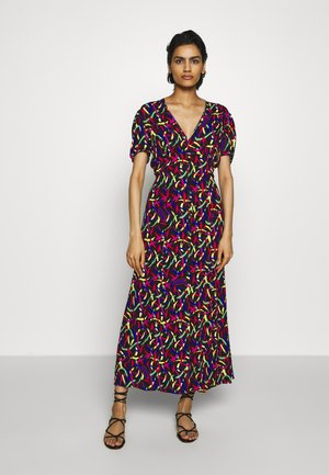 LONG DRESS - Maxi šaty - black/multi