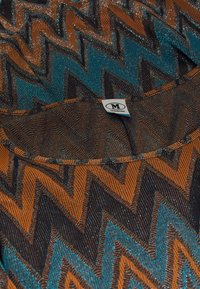 M Missoni - LONG DRESS - Maxi šaty - blue/copper/black - 2