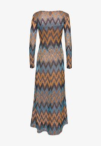 M Missoni - LONG DRESS - Maxi šaty - blue/copper/black - 1